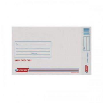 Bubble Lined Envelopes - Go-Secure<br>Size: 1 (165x100mm)<br>Pack of 100
